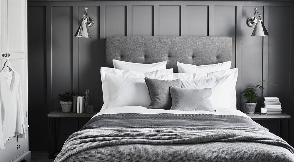 slaapkamer muur ideeën lambrisering