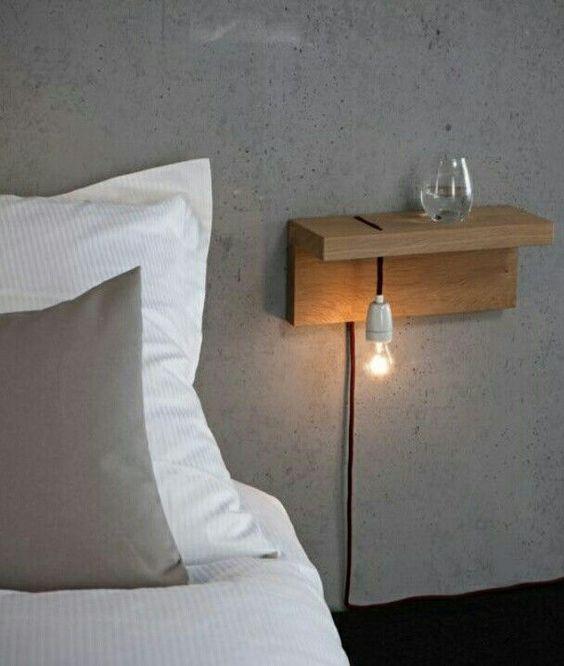 slaapkamer nachtlamp nachtkastje