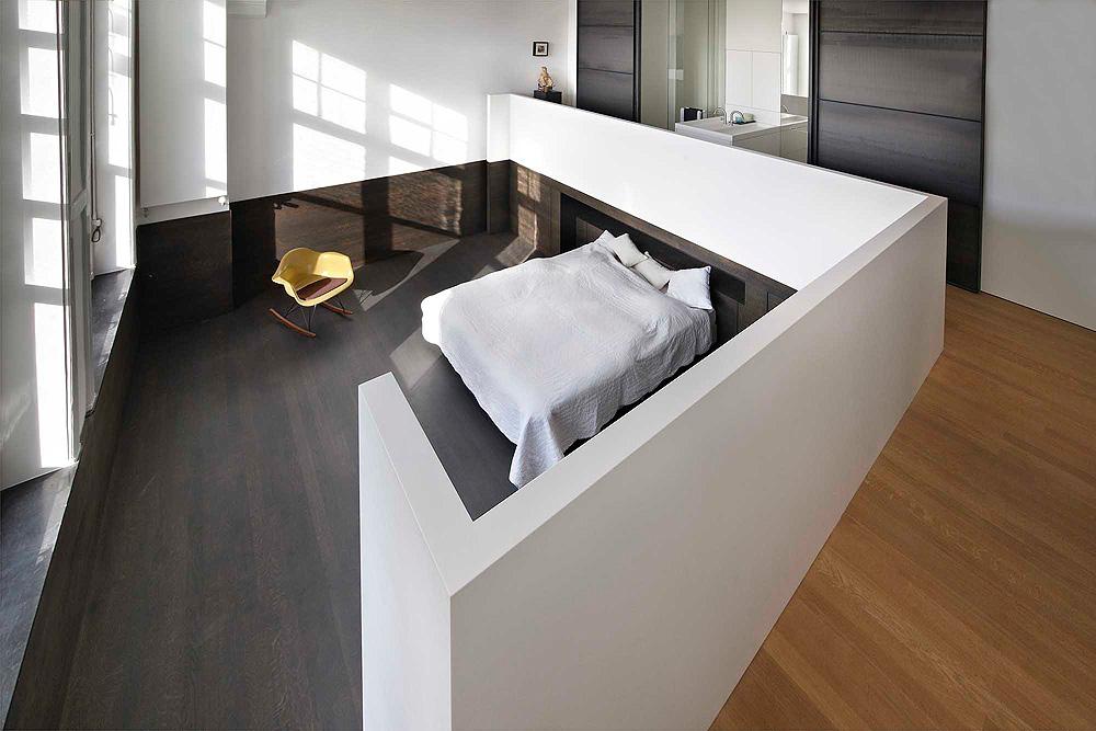 slaapkamer open badkamer schuifdeuren