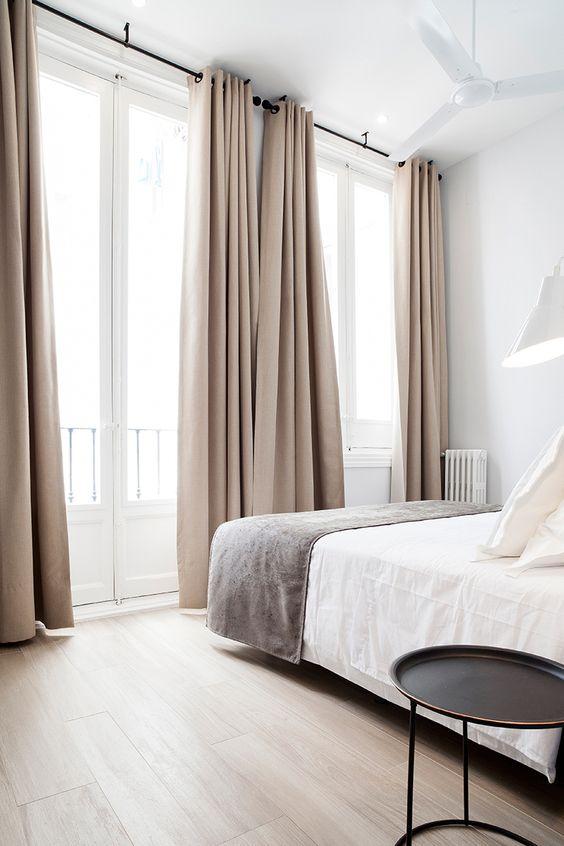 slaapkamer overgordijnen