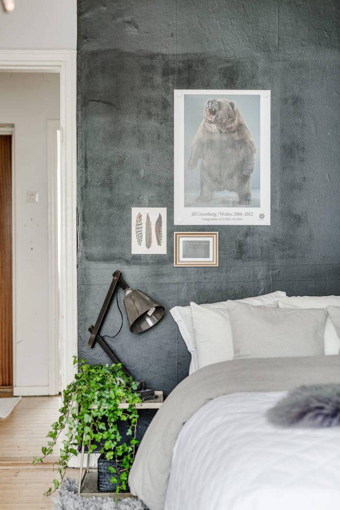 slaapkamer plantje
