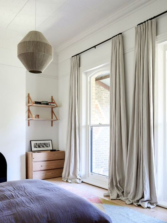 slaapkamer raamdecoratie ideeën