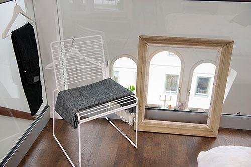 Slaapkamer van Scandinavische mini loft