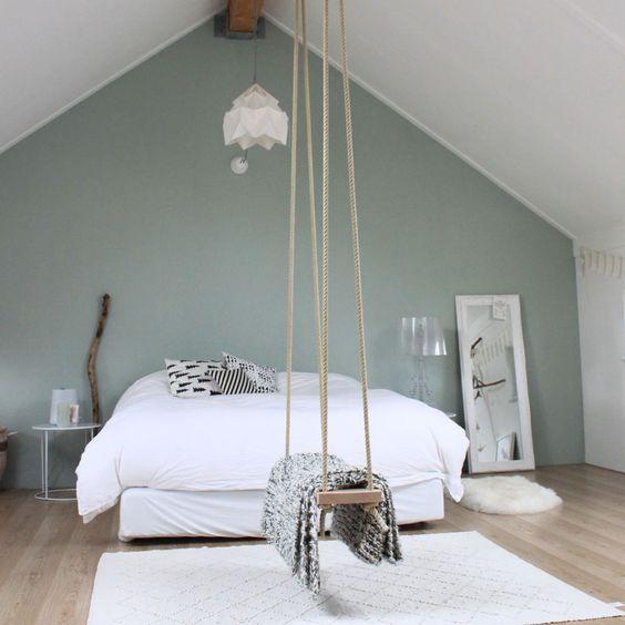 slaapkamer schommel ideeën
