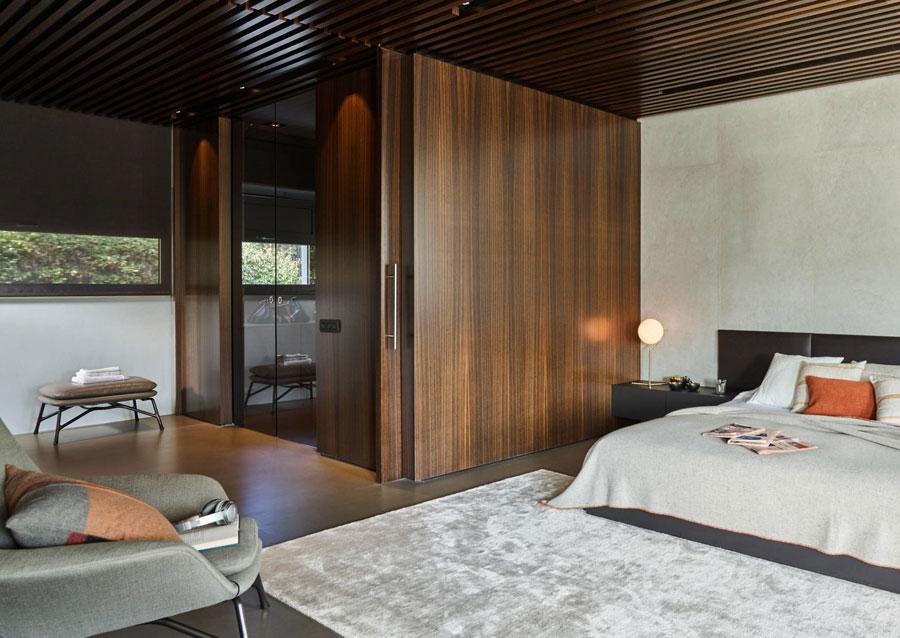 slaapkamer vloerkleed onder bed