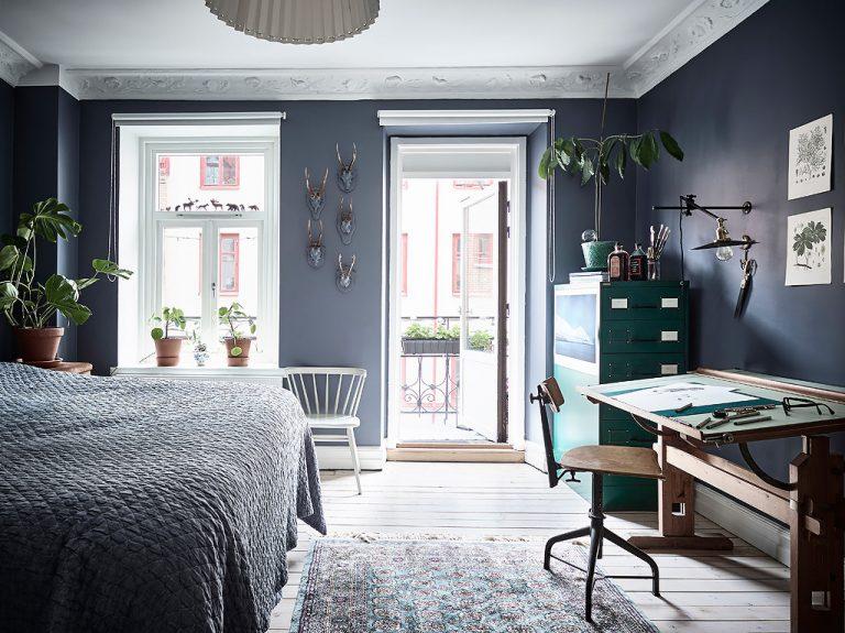 slaapkamer werkplek ideeën
