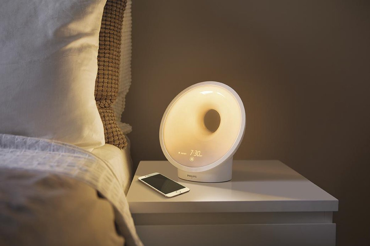 slimme verlichting philips hue wake up light