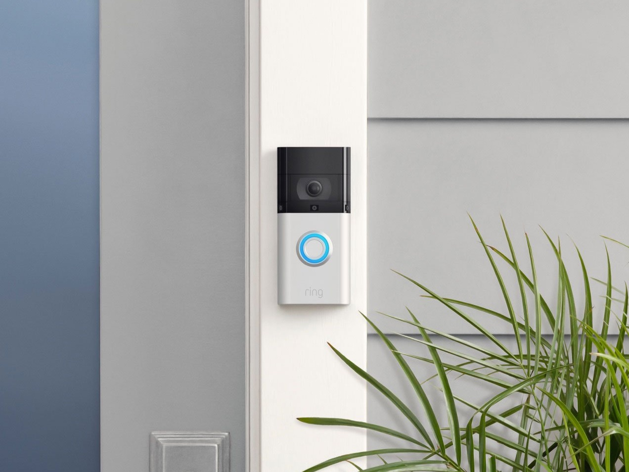 smart home deurbel ring