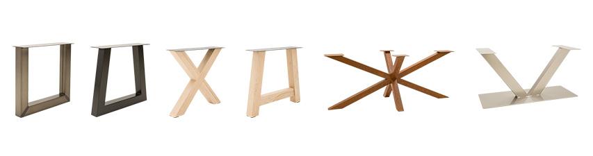 soorten-tafel-onderstel