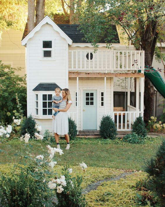 Speelhuisje in de tuin