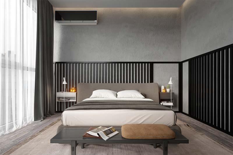 split airco in slaapkamer