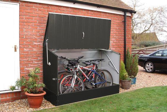 Stalen overdekte fietsenstalling