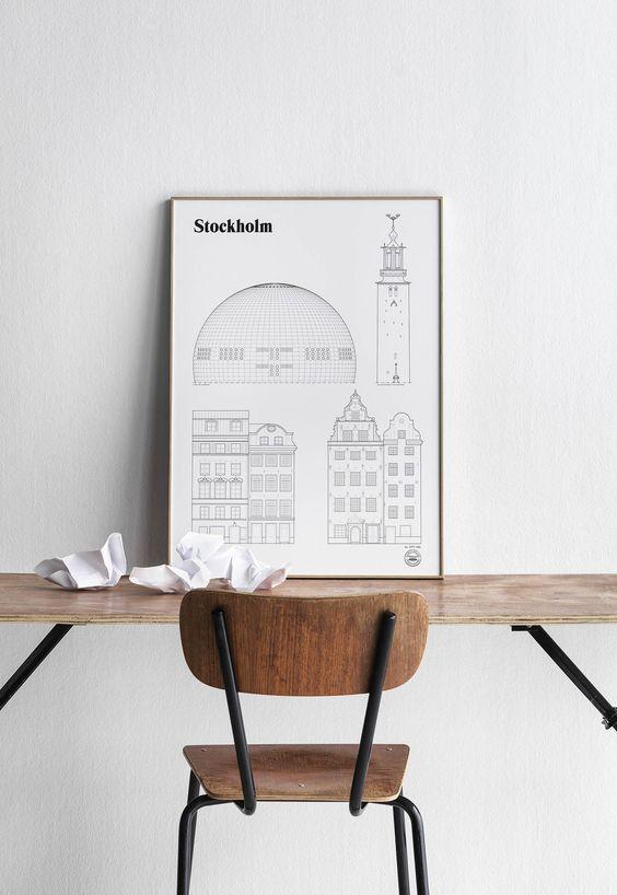 stockholm-gebouwen-poster