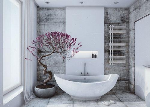 Beton Muur Badkamer : Stoer badkamer ontwerp