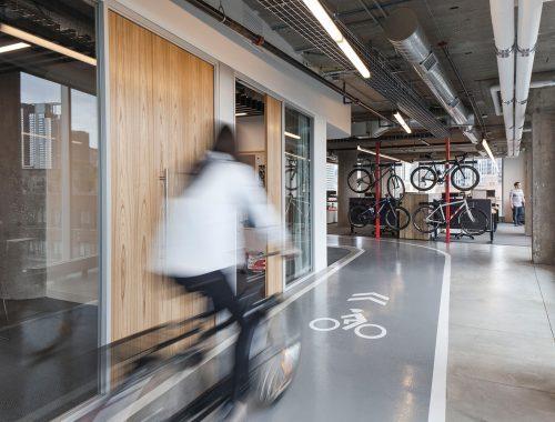 Stoer kantoor van fietsenonderdelen fabrikant SRAM