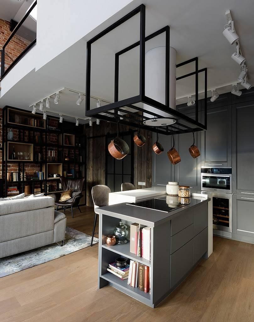 Stoer loft appartement uit Moskou