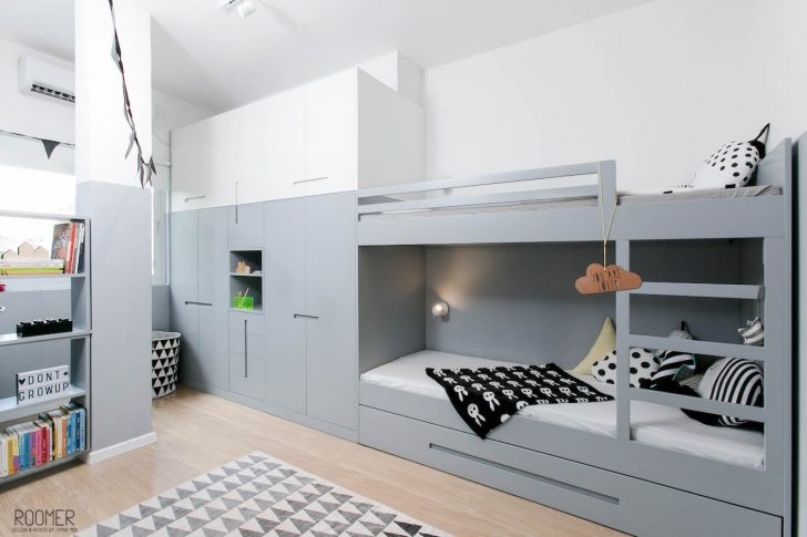 Stoere gedeelde kamers voor twee broertjes