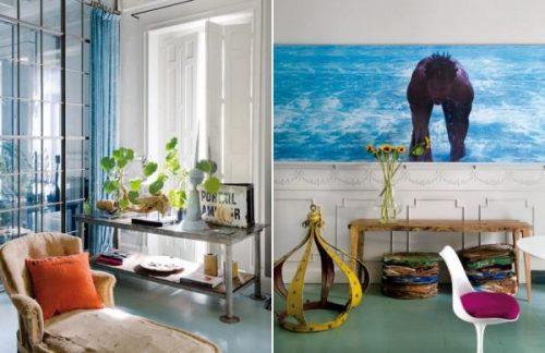 Stoere klassieke woonkamer van Jaime Lacasa