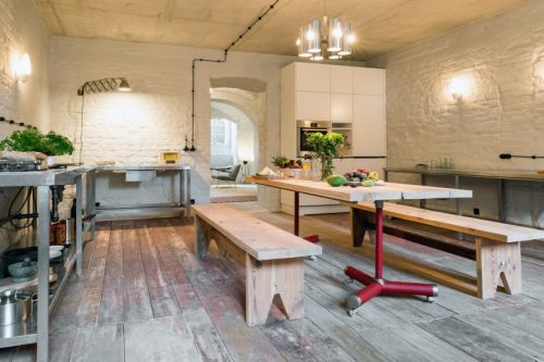 Keuken In Souterrain : Stoere moderne keuken in de souterrain huis inrichten.com