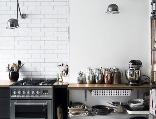 Stoere Scandinavische keuken van Jeanne
