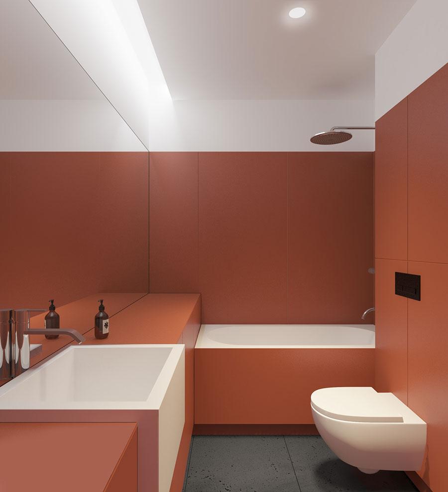 strakke moderne badkamers voorbeelden