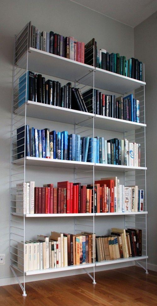 Stringkast boekenkast