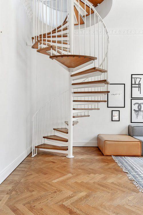 Styling inspiratie voor een Scandinavische woonkamer