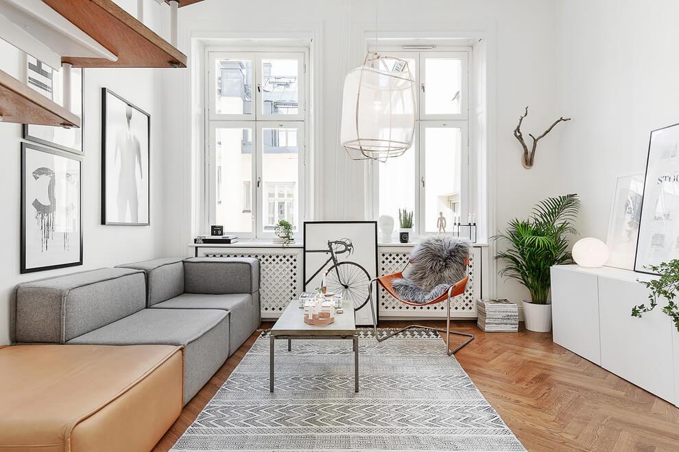 Scandinavische Vintage Woonkamer : Styling inspiratie voor een scandinavische woonkamer huis
