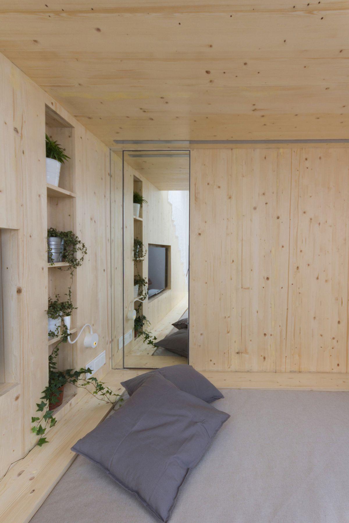 Een super klein familie appartement van 20m2!