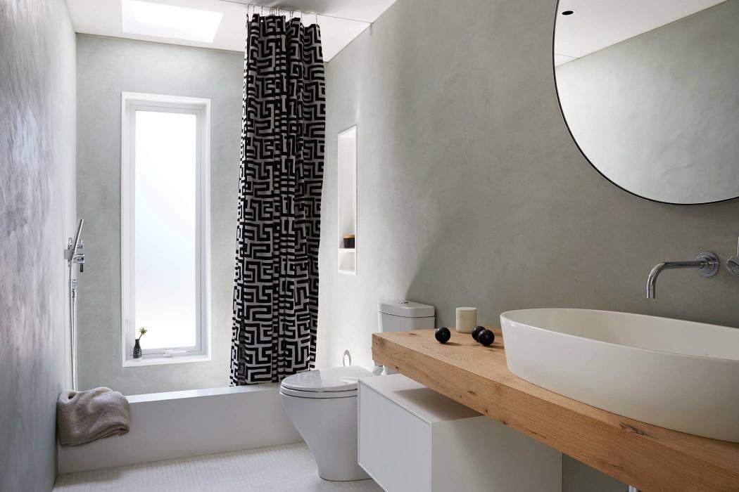 Tadelakt In Badkamer : Tadelakt muren in stijlvolle badkamer