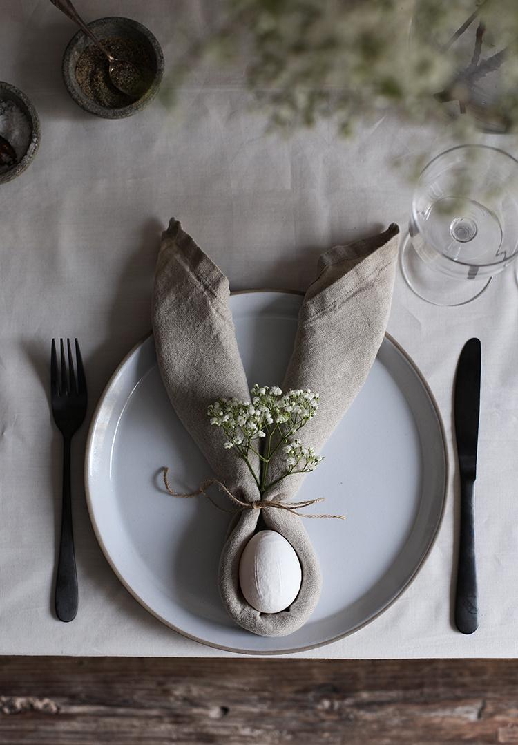 tafel dekken Pasen servetten-2
