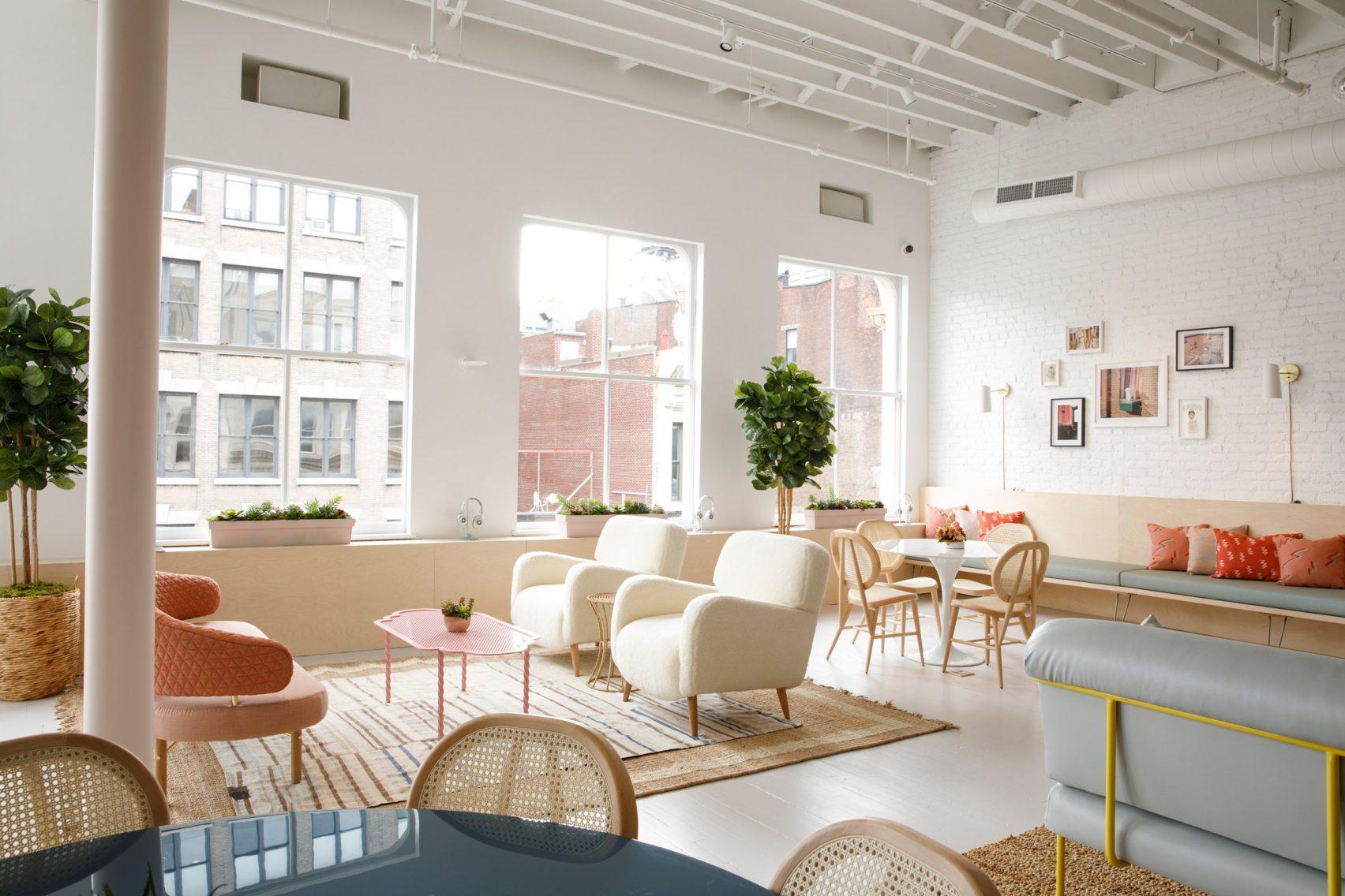 The Wing in New York: flexwerkplekken voor vrouwen
