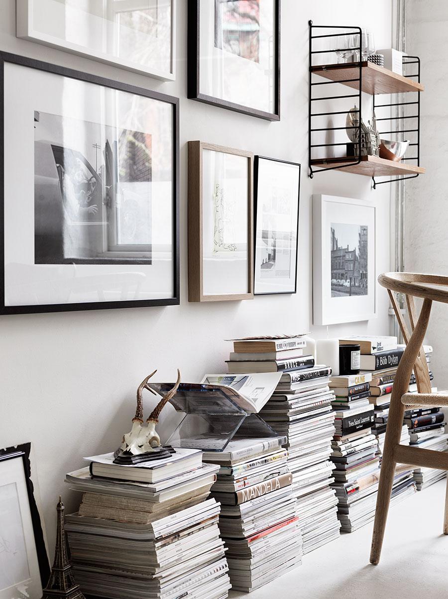 tijdschriften opbergen inspiratie op vloer