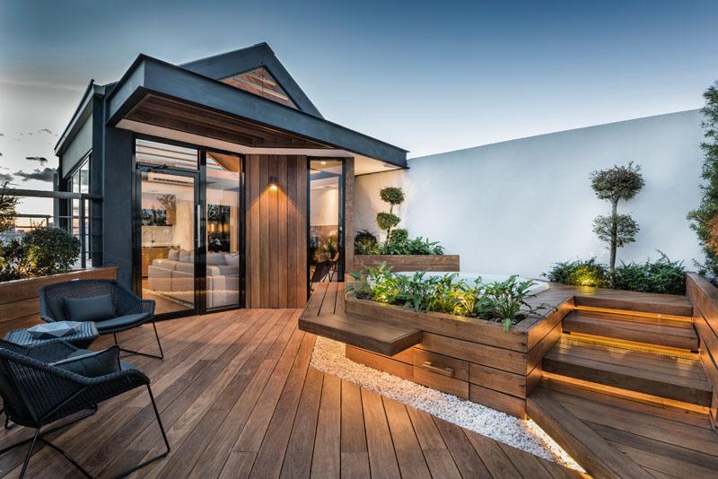Dakterras Met Jacuzzi : Toevluchtsoord met luxe dakterras huis inrichten