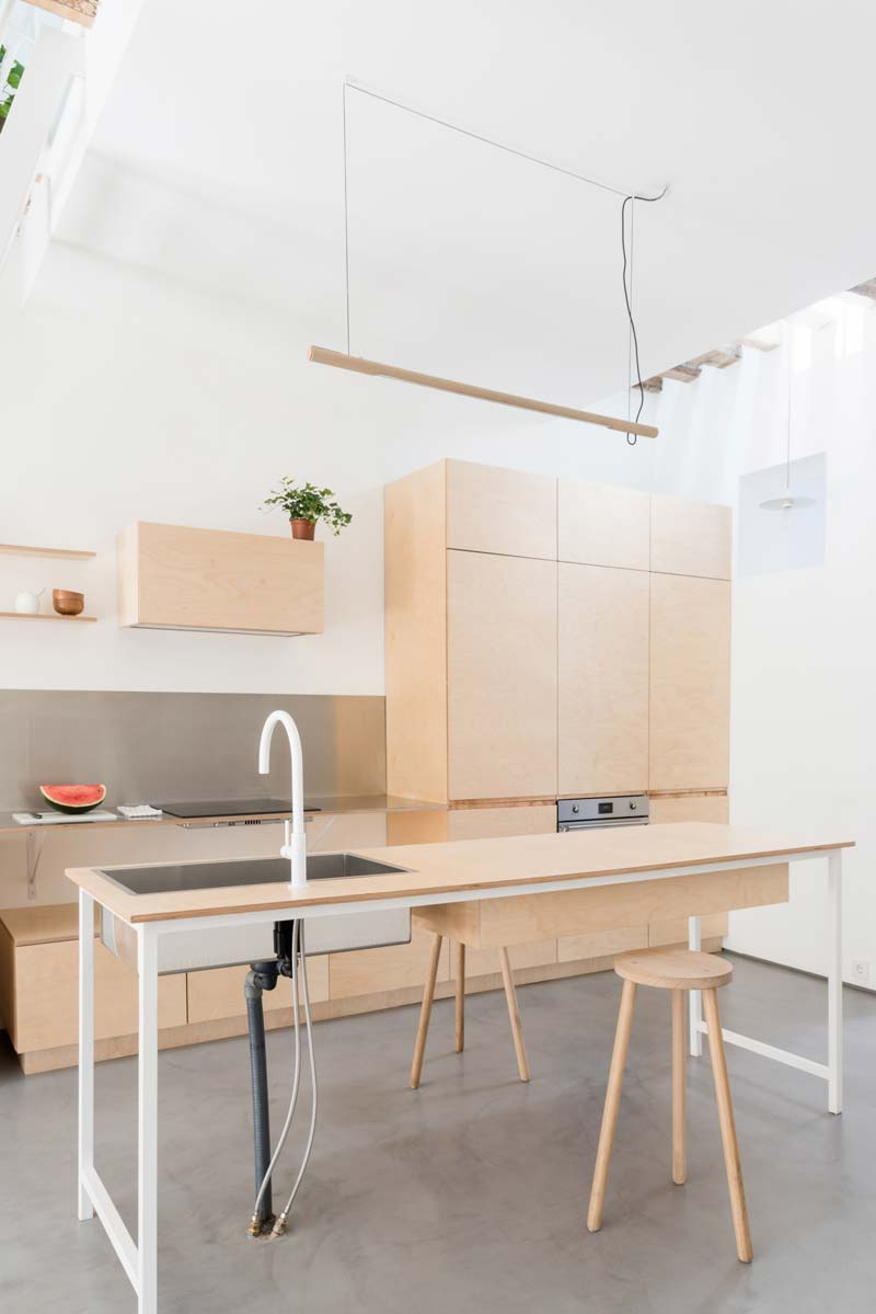 triplex keukenkasten