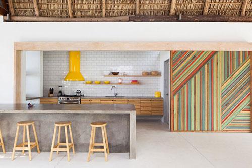 Tropisch droomhuis in El Salvador