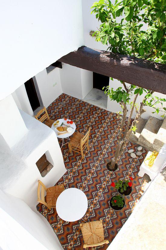 Tuin ideeën Marokkaanse tegels