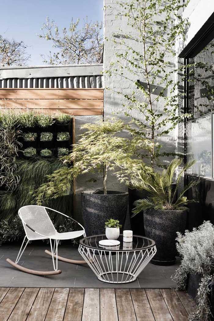 Tuin ideeën plantenpotten