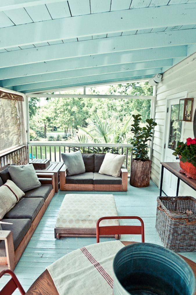Tuin ideeën veranda