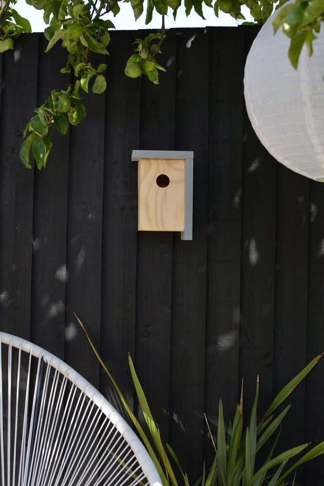 tuin vogelhuisje modern