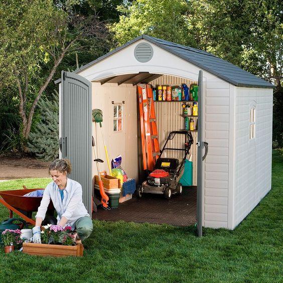 tuinhuis idee gereedschap