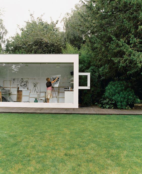 tuinhuis idee kantoor