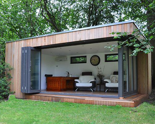 Tuinhuis idee lounge