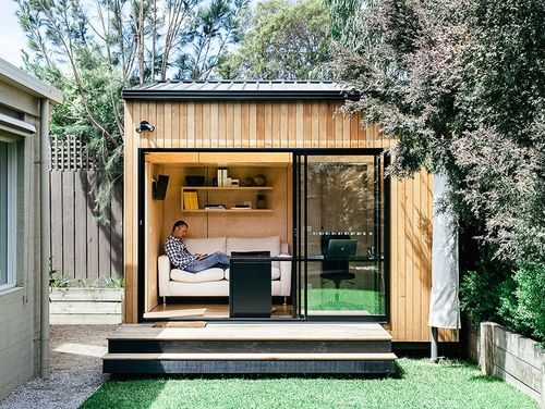 tuinhuis idee relaxruimte