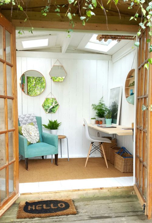tuinhuis kantoor