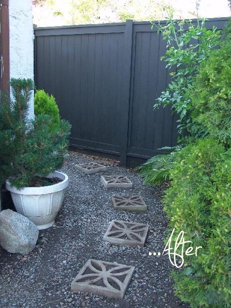 Tuinrenovatie met nieuwe schuttingen
