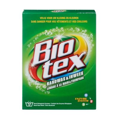 Tuintegels schoonmaken met biotex