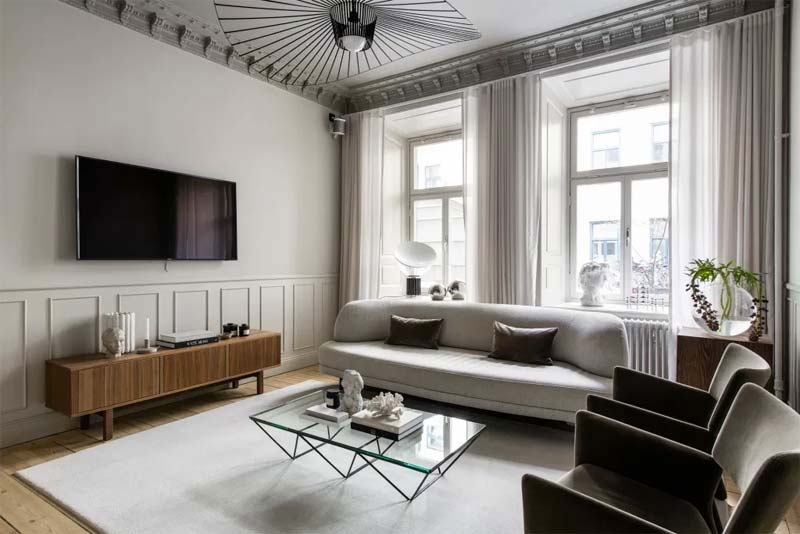 tv aan muur afstand