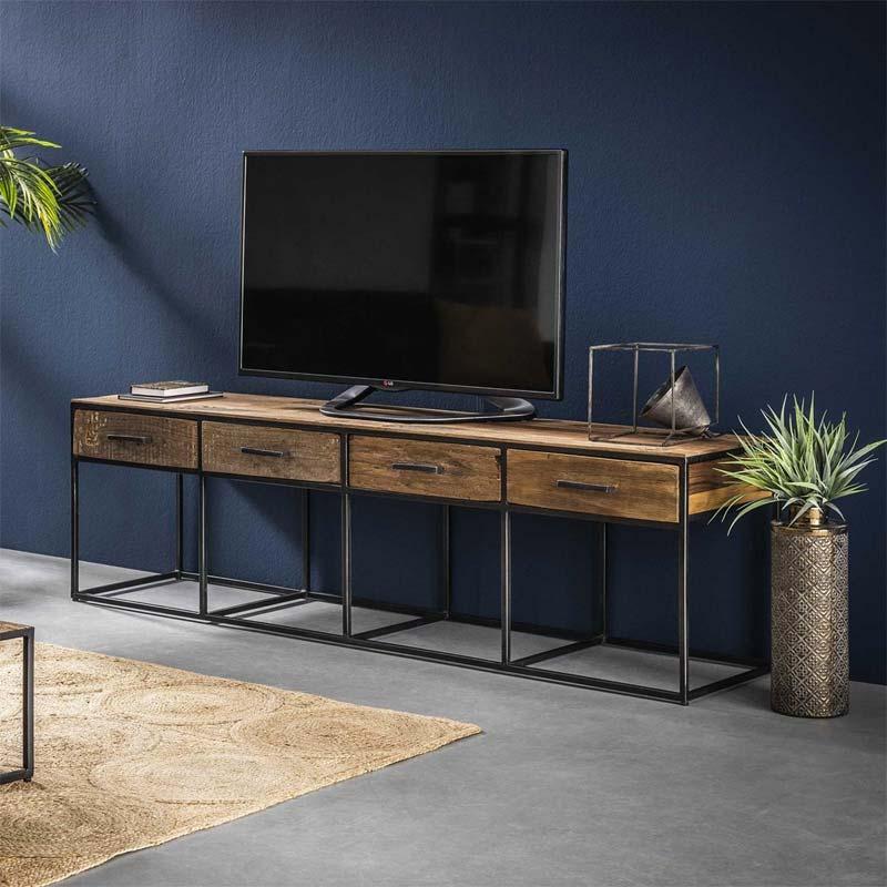 tv meubel met opbergruimte davidi design