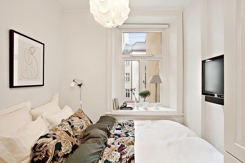 tv slaapkamer ideeën